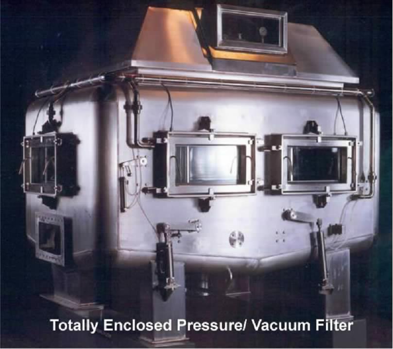 Pressure Filter For Blower : History of development